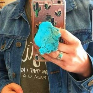 Accessories - Real Turquoise pop sockets